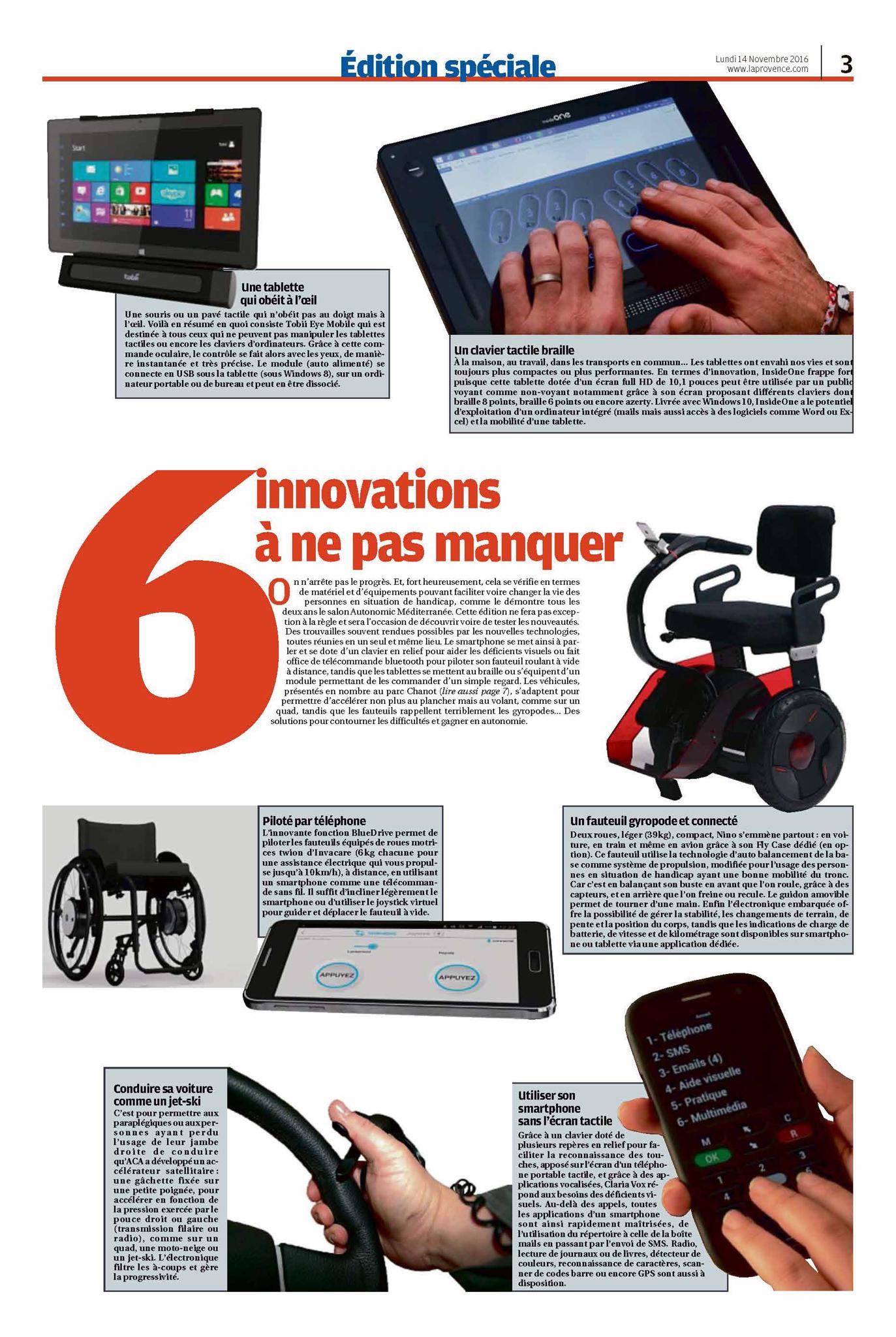 Insidevision actualit s for Salon autonomic rennes